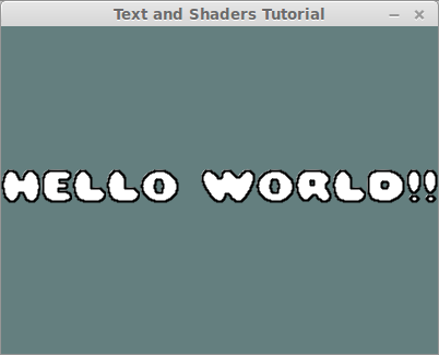 Fun with Text and Shaders [Orx Learning]
