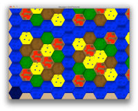 Hexagon Grid Tutorial Screenshot